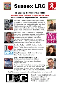 55 Weeks To Save The NHS_15.04.14