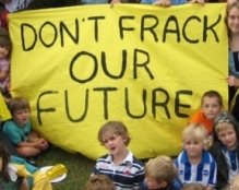 Don't frack our future - Copy