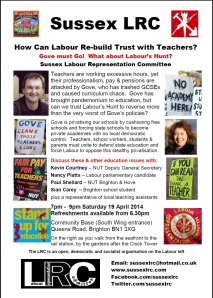 How Can Labour Re-Build Trust With Teachers_19.04.14