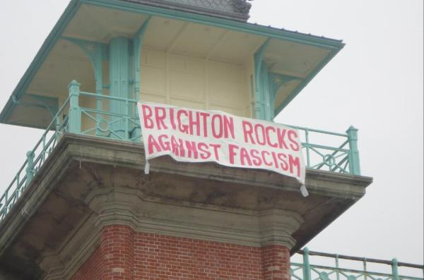 Btn rocks against fascism