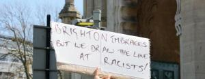 Brighton embraces but we draw the line at racists