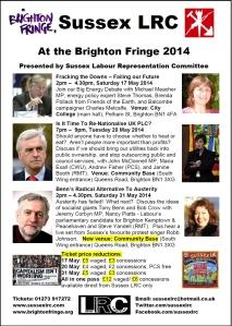 Fringe 2014 poster