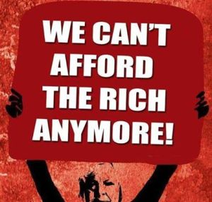 We can't afford the rich anymore