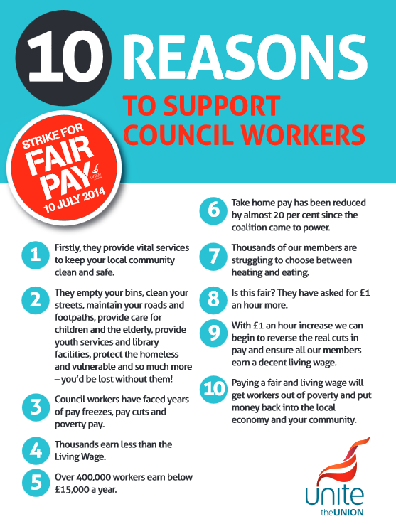 Unite 10 reasons to support 10.07.14