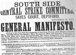 1889 dock manifesto
