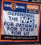 GMB Southern NHS banner