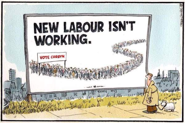New Lab isn't working - vote Corbyn