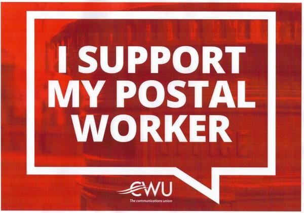 CWU postal workers